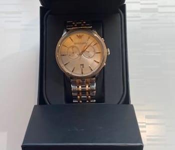 エンポリオアルマーニ クロノグラフ メンズ腕時計 お買取りしました。